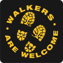walkers are welcome