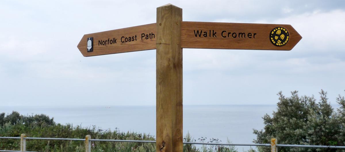 walk cromer