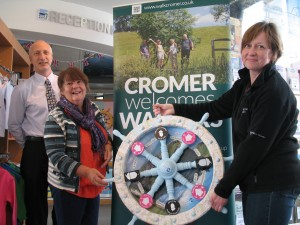 Walkers are welcome Cromer WHEEL