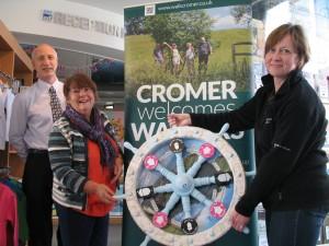 Walkers are welcome Cromer WHEEL