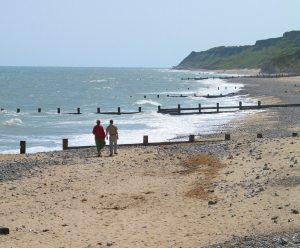 cromer beach walk