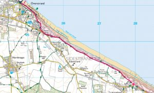 3b Trimingham to Overstrand linear 2.5 miles