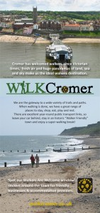 walkers are welcome in Cromer