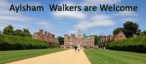 Aylsham Walkers are Welcome