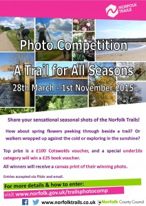 photo competition for 2015 called A trail for all seasons'