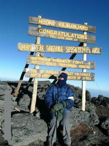 Hilary Cox Kilimanjaro