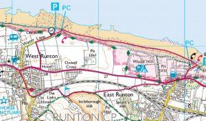 09 West Runton circular via beach and inland tracks 3 miles