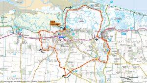 Blakeney-circular-starting-at-Cley-next-the-Seavia-Wiveton-Downs-and-Coast-path
