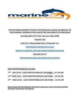 Beachwatch beach clean events
