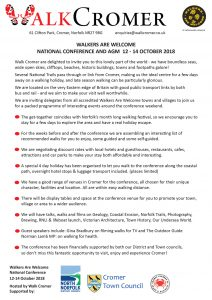 walkers annual conference info